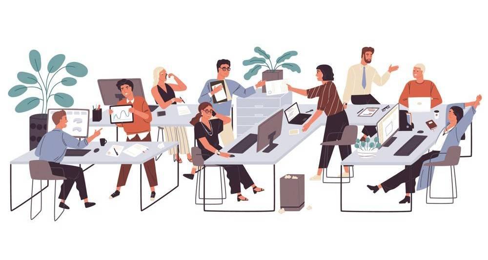 réunion dans une entreprise